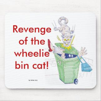 ¡Venganza del gato del compartimiento del wheelie! Tapete De Raton