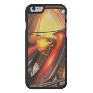 Vengeance Abstract Carved® Maple iPhone 6 Slim Case