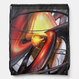 Vengeance Abstract Cinch Bags