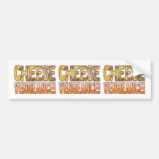 Vengeance Blue Cheese Bumper Sticker