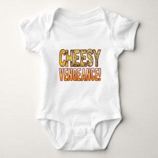 Vengeance Blue Cheesy Baby Bodysuit
