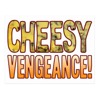 Vengeance Blue Cheesy Postcard