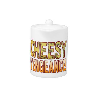 Vengeance Blue Cheesy Teapot
