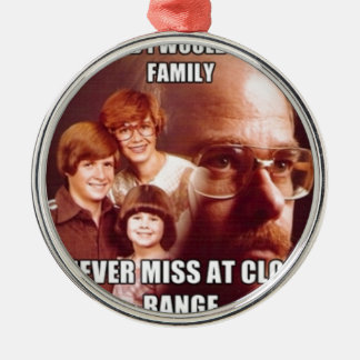 Vengeance Dad Metal Ornament