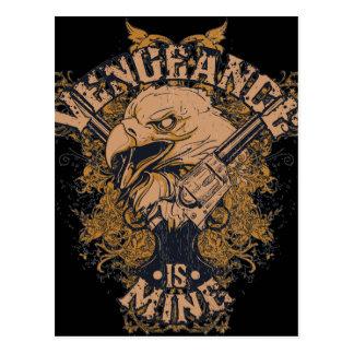 Vengeance Eagle Postcard