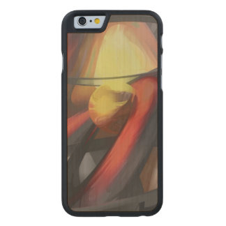 Vengeance Pastel Abstract Carved® Maple iPhone 6 Case