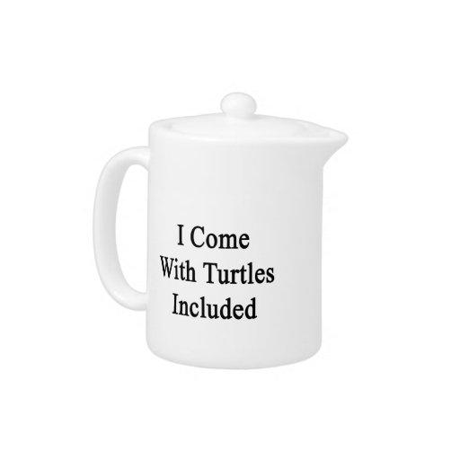 Vengo con las tortugas incluidas
