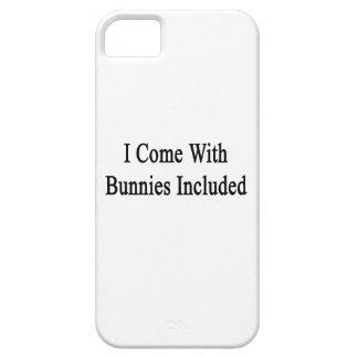 Vengo con los conejitos incluidos iPhone 5 coberturas