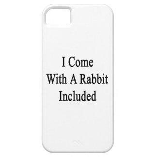 Vengo con un conejo incluido iPhone 5 Case-Mate cárcasas