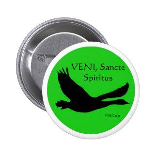VENI, Sancte Spiritus Button - Customise with your