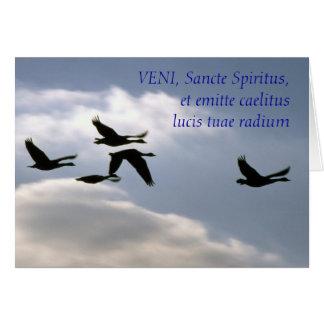 VENI, Sancte Spiritus,et emitte cael... Card