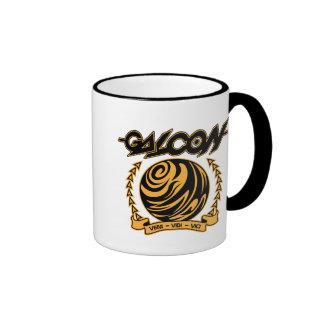Veni Vedi Vici Ringer Coffee Mug
