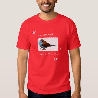 Veni Vedi Vocali LOLBirds Shirt