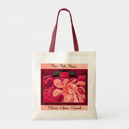 Veni Vidi Venus Canvas Bags