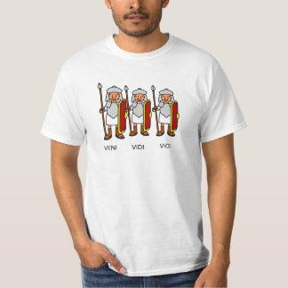 Veni, Vidi, Vici camiseta Playera