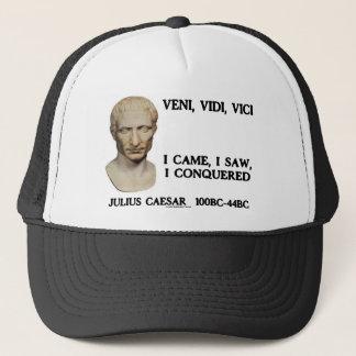 Veni, Vidi, Vici - I Came, I Saw, I Conquered Trucker Hat