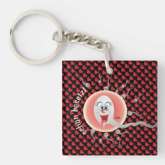 veni vidi vici it came saw and triumphed Single-Sided square acrylic keychain