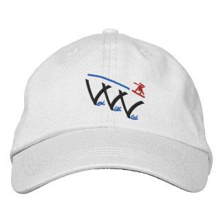 veni vidi vici snowboarder embroidered baseball hat
