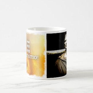 ¡Veni Vidi Vici Vastatio! Taza de café