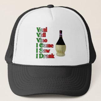 Veni Vidi Vino Trucker Hat