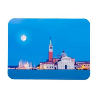 Venice 002A Rectangular Photo Magnet