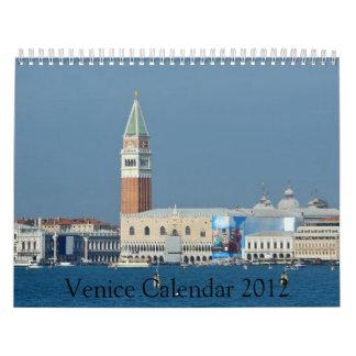 Venice 2012 Calendar