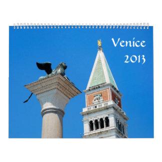 Venice 2013 Calendar