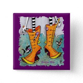 Funny Pin - Acqua Alta Venice Boots