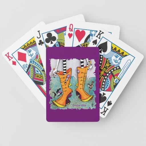Venice Acqua Alta Boots – Italian Comic Children Card Deck