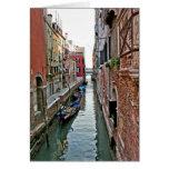Venice Alleyway Card