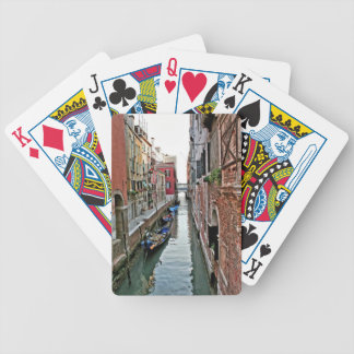 Venice Alleyway Poker Cards