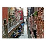 Venice Alleyway Postcard