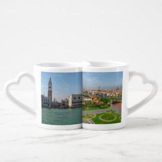 Venice and Florence Coffee Mug Set