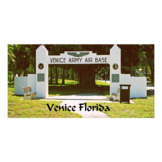Venice Army Air Force Base Card