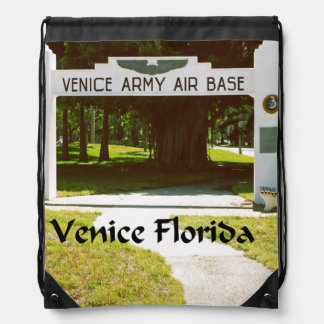 Venice Army Air Force Base Drawstring Bag