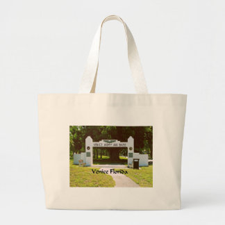 Venice Army Air Force Base Large Tote Bag