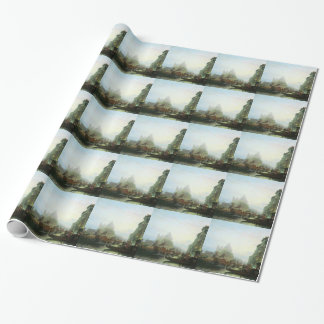 Venice at night by Alexey Bogolyubov Wrapping Paper