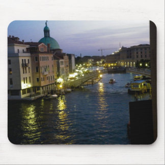 Venice at night mouse pad