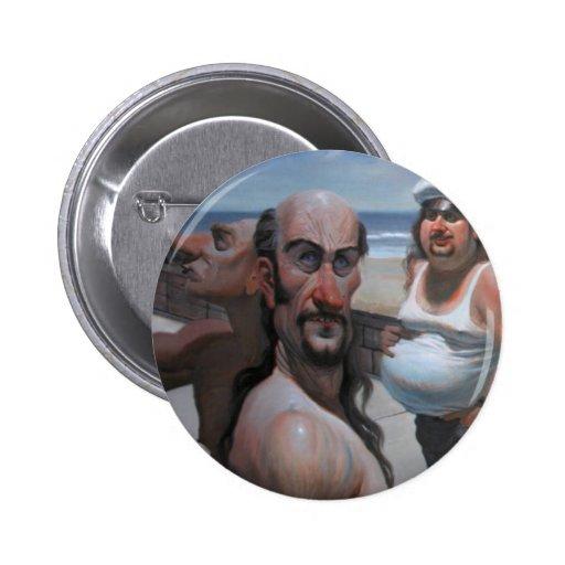 Venice Beach Pinback Buttons