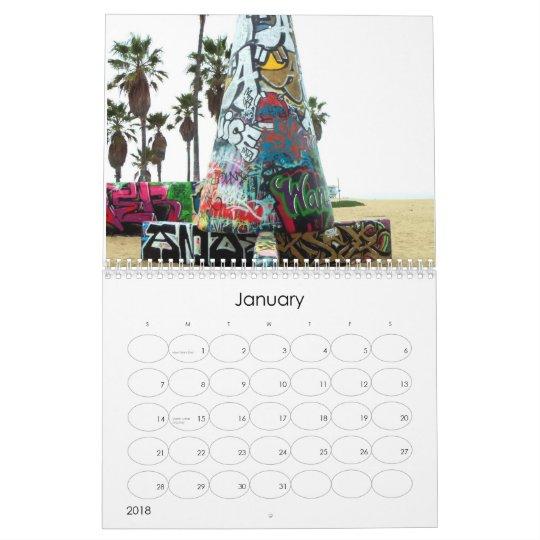 Venice Beach Calendar