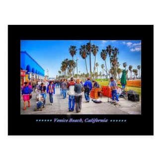 Venice Beach, California - Postcard
