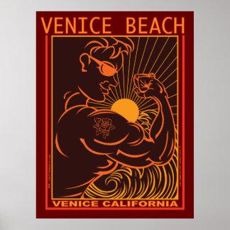 VENICE BEACH CALIFORNIA POSTER