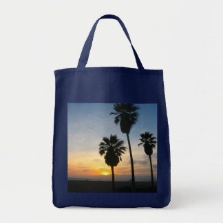 Venice Beach California Sunset Tote Bag