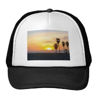 Venice Beach California Sunset Trucker Hat