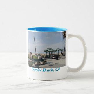 Venice Beach, California Two-Tone Coffee Mug