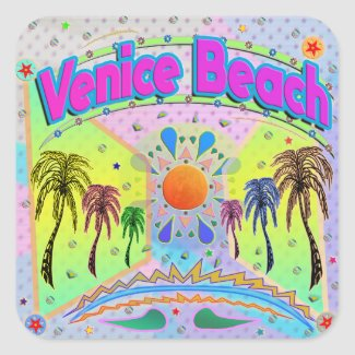 Venice Beach Calm Desire Sticker