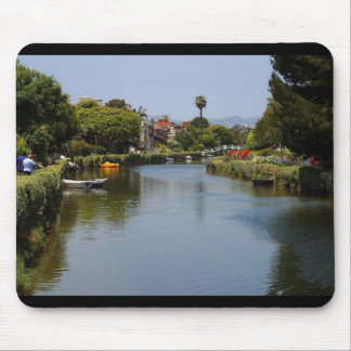 Venice Beach Canals Mouse Pad