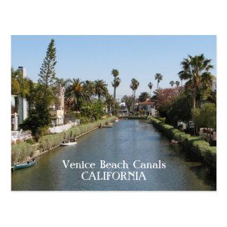 Venice Beach Canals Postcard! Postcard