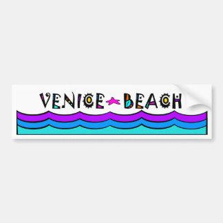 VENICE BEACH CAR BUMPER STICKER