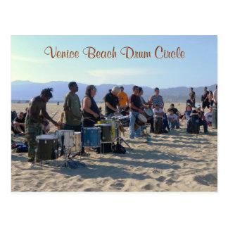Venice Beach Drum Circle Postcard!